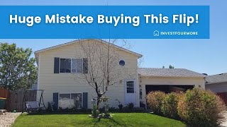 New House Flip Purchased Sight Unseen. I Made a Pretty Big Mistake! Fix and Flip #223