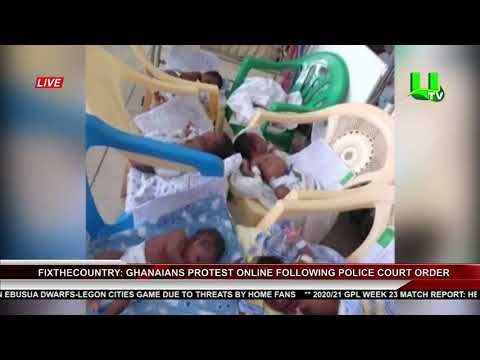 FixTheCountry: Ghanaians Protest Online Following Police Court Order