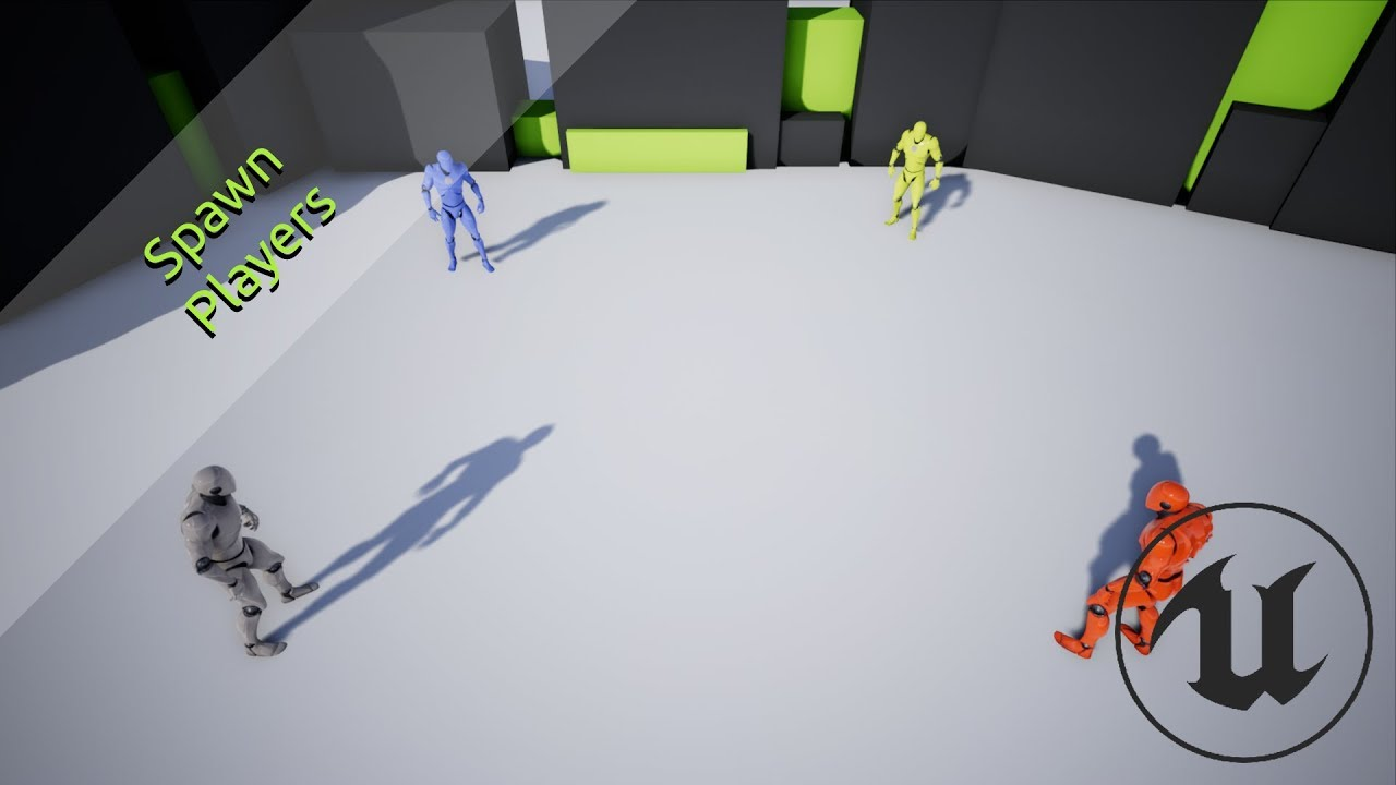UE4 / Unreal Engine 4 Multiplayer - #02 Player Spawning System