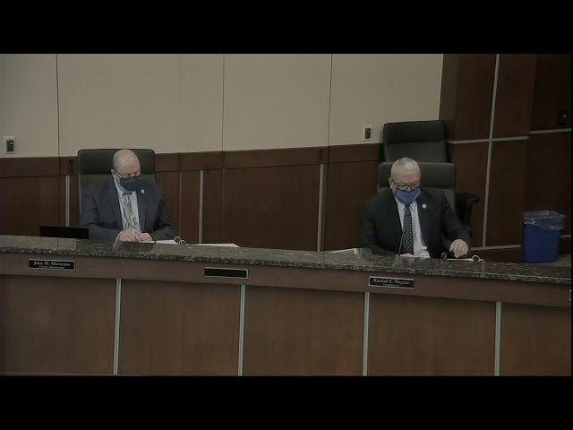 Washington County Board of Commissioners Meeting 3/23/2021