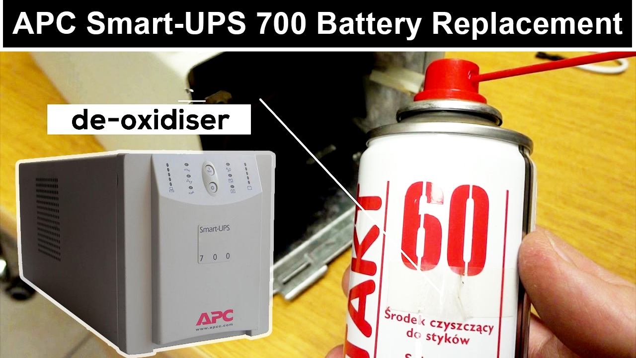 battery replacement apc smart ups 700 instruction [ 1280 x 720 Pixel ]