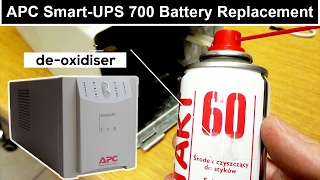 Battery Replacement APC Smart UPS 700 Instruction