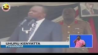 Unaenda kulamba matako ya wengine sababu ya pesa - Uhuru Kenyatta most ANGRY MOMENTS