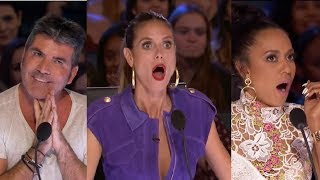 The 5 AUDITIONS Judges Left Absolutely Speechless! America´s Got Talent 2017