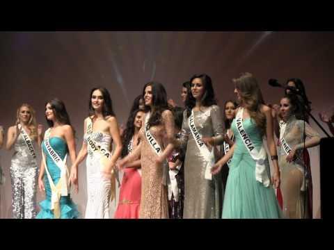 Gala Final Miss Grand Spain 2016 en Sevilla. Finalistas y Ganadora de Miss Grand Spain 2016, Málaga.