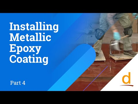 How to install Designer Epoxy Flooring System - Part 4