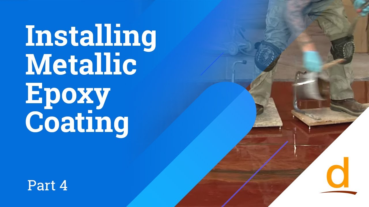 How to install Designer Epoxy Flooring System - Part 4 - YouTube