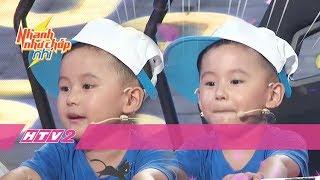Trật giải quán quân, con trai Trấn Thành vẫn cool ngầu hết sức | NHANH NHƯ CHỚP NHÍ - Tập 9