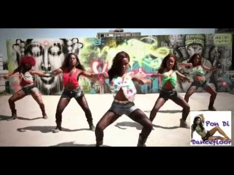 BIG BOOTY NEW YEARS 2012 JAMAICAN Best Dancehall Dance Crew YouTube
