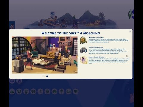 The Sims 4 Moschino Stuff Pack Overview |