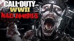 Call of Duty WW2 Nazi Zombies Mode Gameplay German #01 - The Final Reich