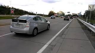 Vehicle accident on 376 in Vanport