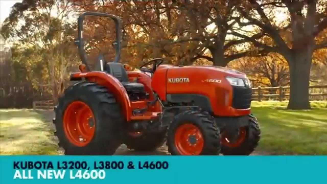 Kubota L3200  L3800  U0026 L4600 Farm Machinery Trader