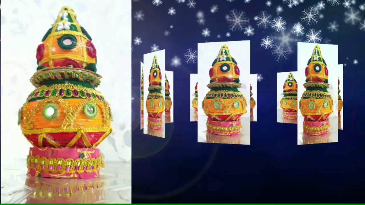 Diy Kalash Decoration For Wedding Matki Decoration Kalash