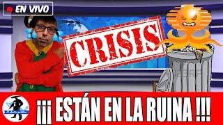 Televisa Se Hunde y Las Ratas Saltan Del Barco: Caen 84% Sus Ingresos