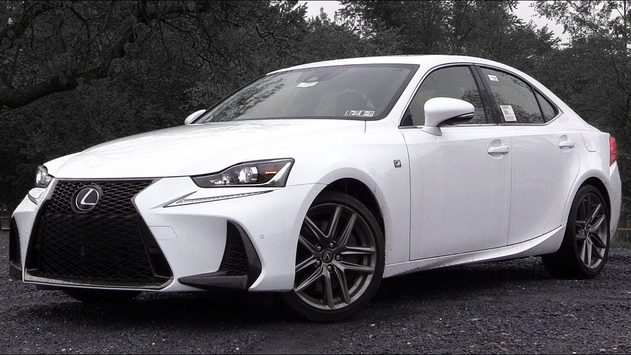 2018 lexus is 350 f sport  review