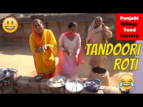 Tandoori Roti 💕 How to make Tandoori Roti 💕 Tandoori Roti Recipe 💕 Punjabi Village Food Factory