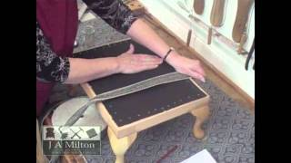 How To Make A Footstool - Part 1