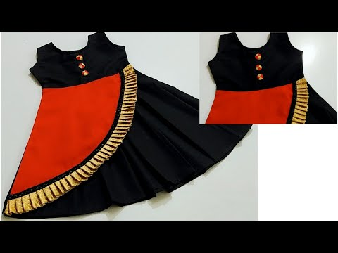 Eid special beautiful baby frock cutting & stitching ?? step by step very easy method.