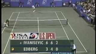 Edberg v Ivanisevic - 1996 U QF (2/3)
