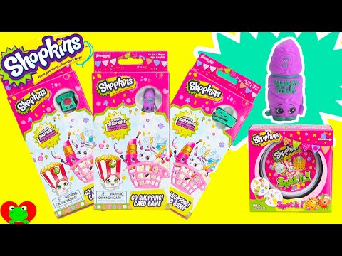 Shopkins Spot It Game and Go Shopping Game with Exclusives