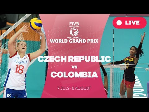 Czech Republic v Colombia - Group 2: 2017 FIVB Volleyball World Grand Prix