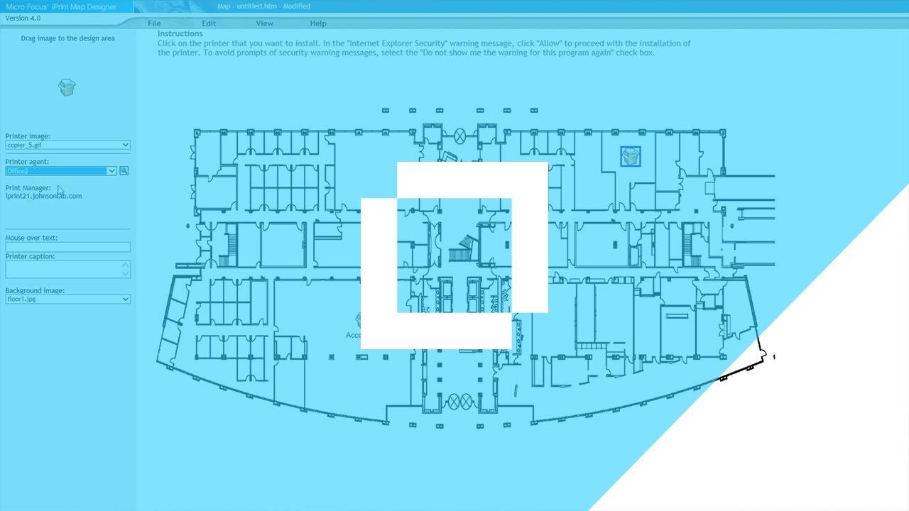 Howto create custom printer maps using the iprint map designer tool howto create custom printer maps using the iprint map designer tool ccuart Gallery