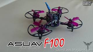ASUAV F100 Simple Mods, Reversed motor direction, from www.gearbest.com