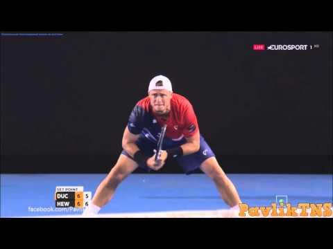 James Duckworth vs Lleyton Hewitt Highlights ᴴᴰ Australian Open 2016