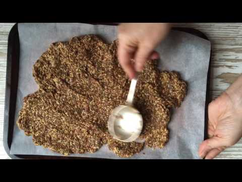 Flaxseed and Chia Crackers