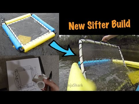 Fossil Hunting Equipment: Built A New (and Improved) Sifter