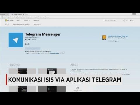 Komunikasi ISIS Via Aplikasi Telegram?