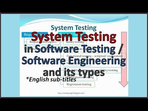 System Testing tutorial