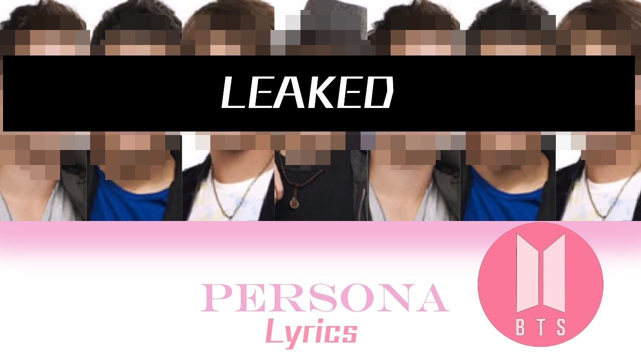 LEAKED * BTS MAP OF THE SOUL: PERSONA NEW ALBUM TITLE TRACK !! - YouTube