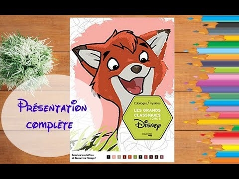 Presentation Complete Coloriages Mysteres Tome 5 Disney