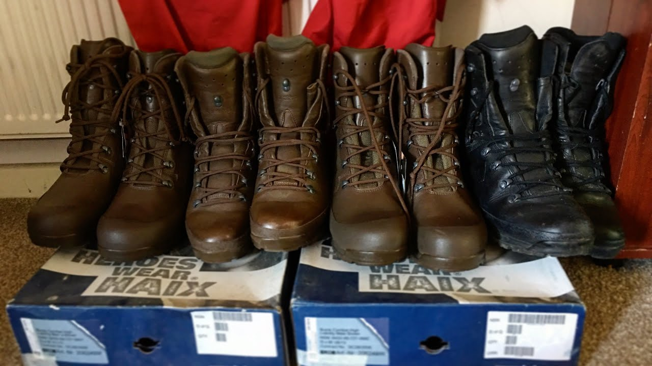 Hand Selected! Altberg brown high liability British Army issue Brown Boots