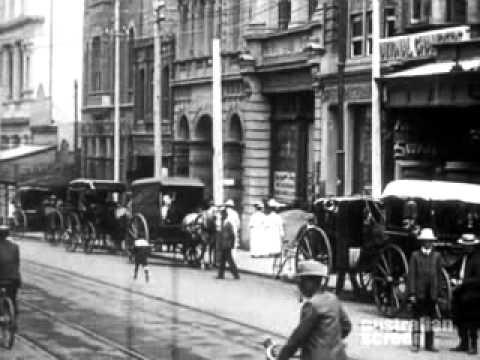 Perth, Western Australia, Street Scenes, 1907