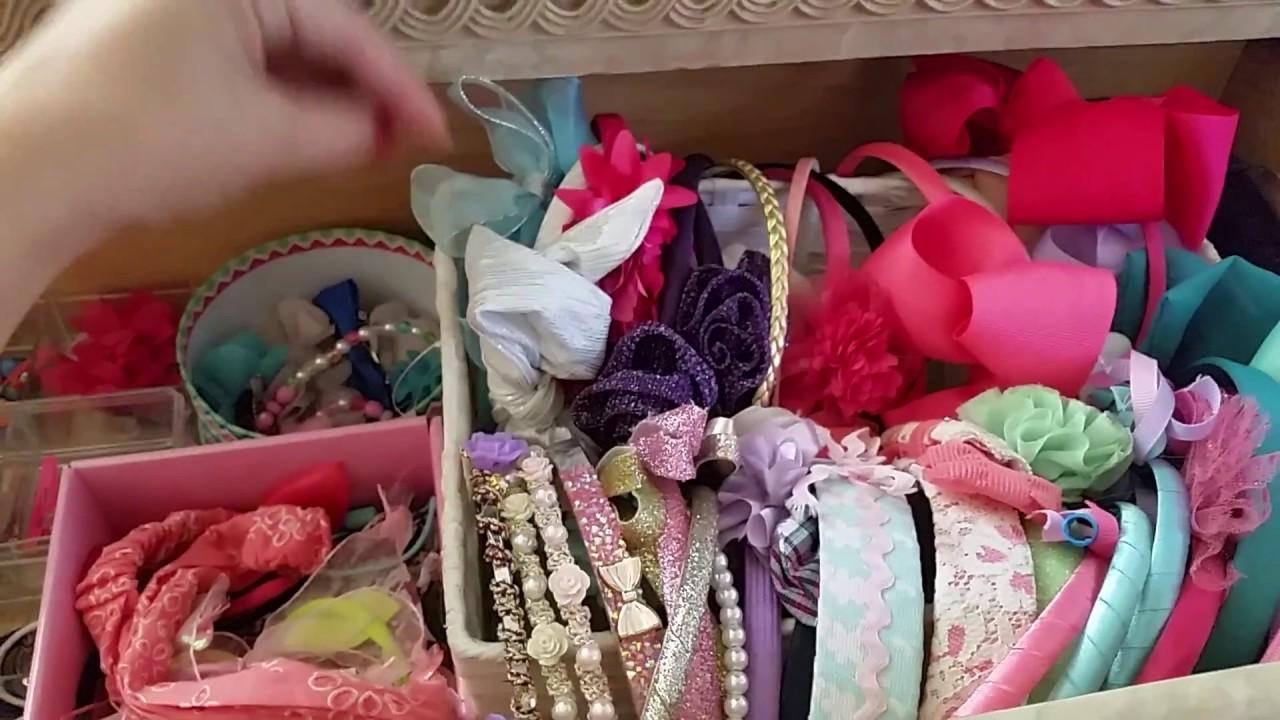 baby girl toddler girl little girls hair accessories organization rh youtube com
