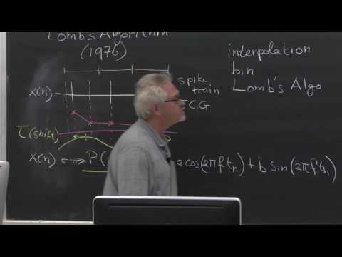 Lecture 6B:The Power Spectrum, Lomb's Algorithm and Multi-Taper Estimate, Dr. Wim van Drongelen