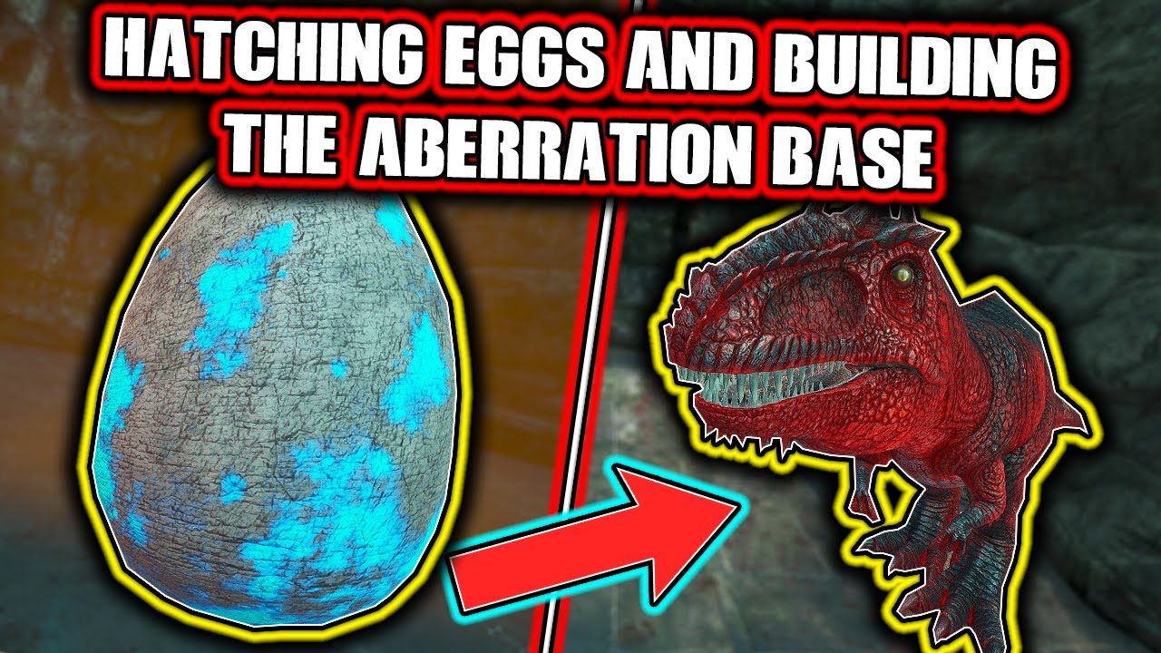 HATCHING EGGS AND BUILDING THE ABERRATION BASE - MTS MAIN CLUSTER S5 Ep 12 - Ark: Survival Evolved