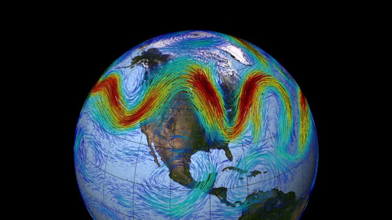 Mapping the Jet Stream - YouTube