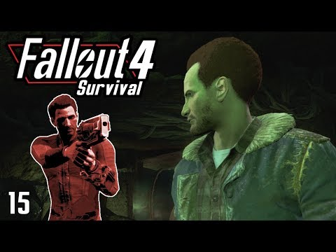 Fallout 4 Survival - Belcher Cave - Part 15
