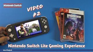 Nintendo Switch Lite Gaming Experience - Video #2