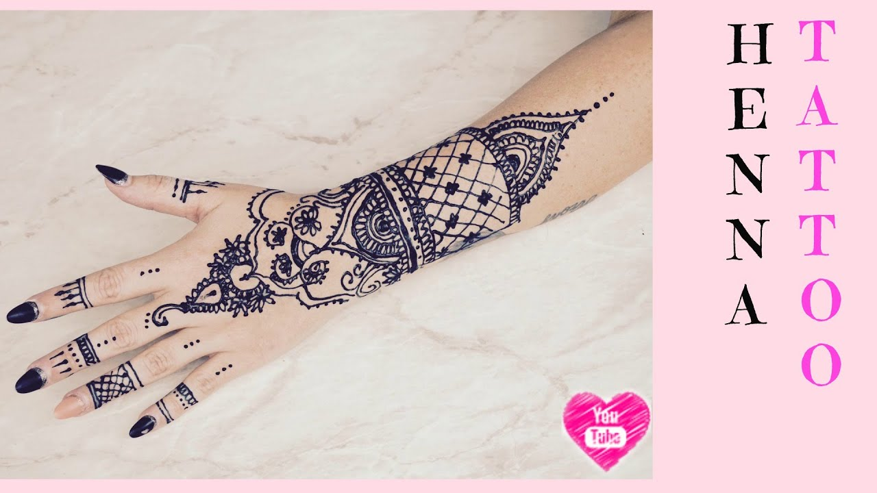 Jagua Henna Tattoo Review: Sierra Sando - YouTube