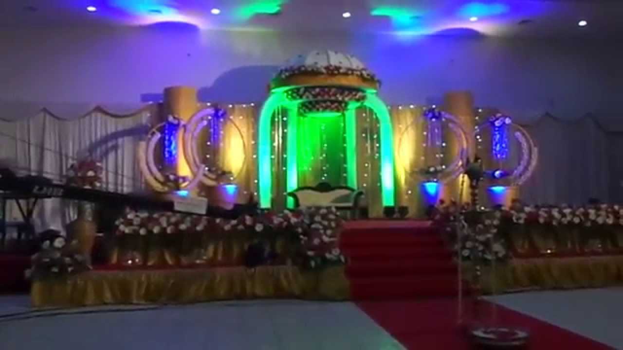 Wedding Reception Stage Decoration Trivandrum Club Kerala 2015