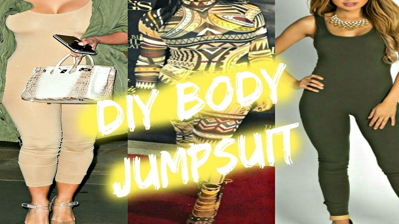 47ccac5d985 EASY DIY BODYSUIT JUMPSUIT TUTORIAL!