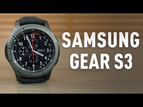 Samsung Gear S3 Frontier akıllı saat incelemesi