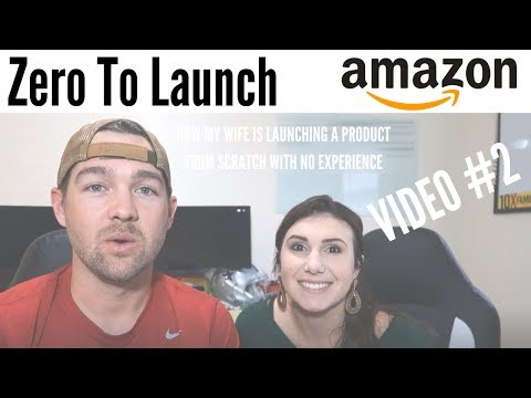 Zero To Launch Case Study VIDEO #2 [A Video Series For Beginners] Amazon FBA, Shopify, & Kickstarter