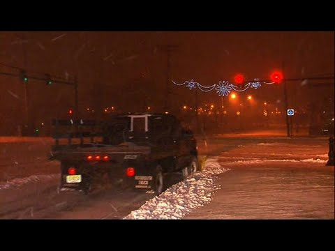 Raw: Massive Storm Pours Snow on New Jersey