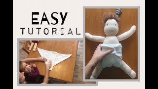 How to Fold Flat Diapers: Jo Fold & Origami Fold: Standard + Newborn Size